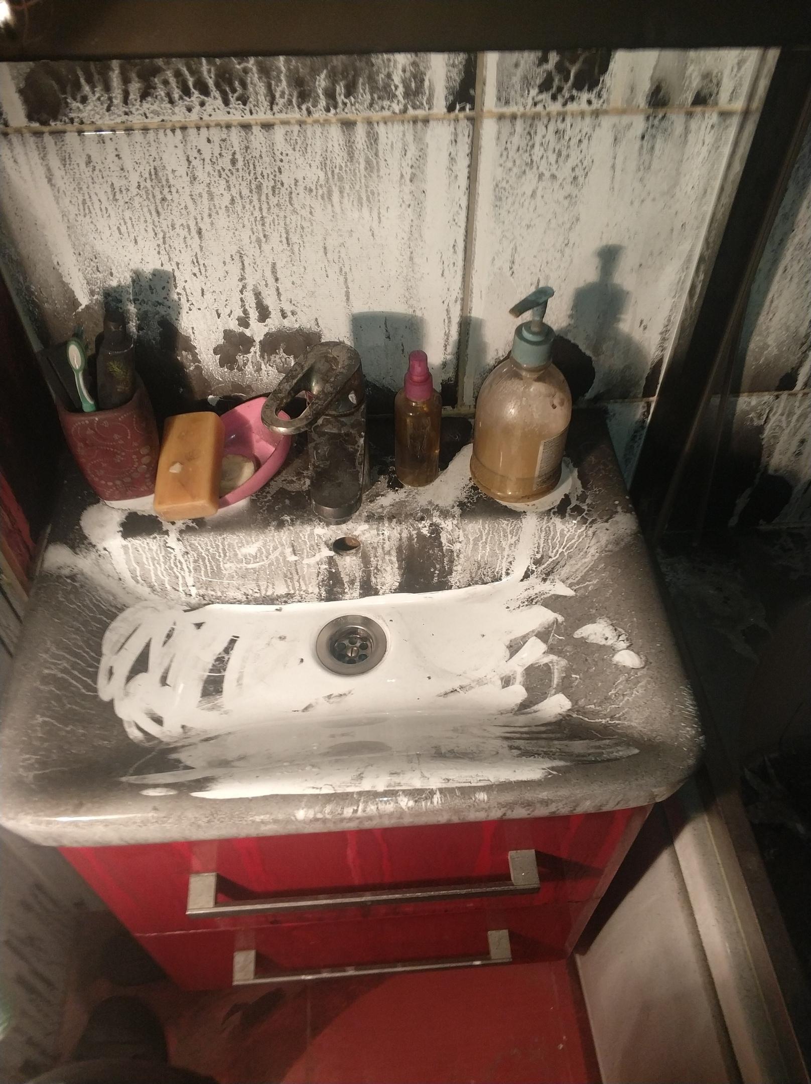 уборка после пожаров