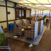 химчистка мягкой мебели ресторана Хуторок в Омске